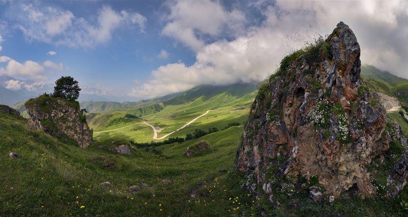 дорога, горы, ингушетия Лентаphoto preview