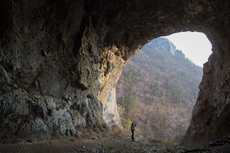 пещера, сихотэ-алинь, приморье, заповедное Чертовы Воротаphoto preview
