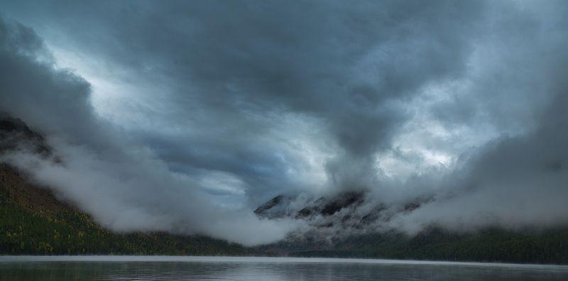 Утро на Мультинском озереphoto preview