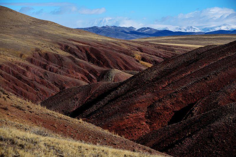 горы горный алтай цвет пейзаж ландшафт Цветные горы Кокоряphoto preview