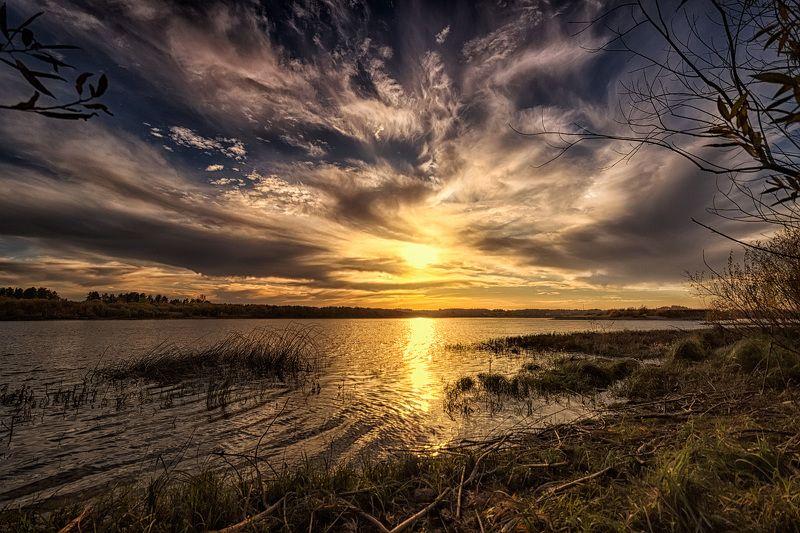 Закат взволнованного неба...photo preview