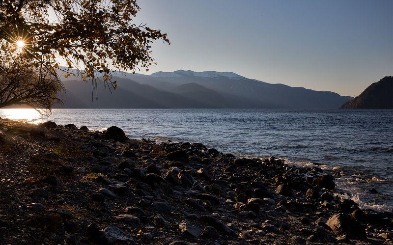Утро Телецкого озера.photo preview
