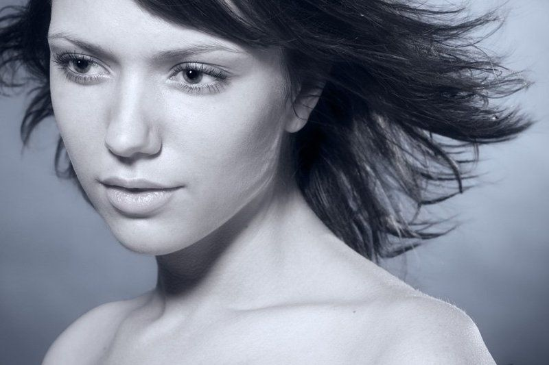 портрет, девушка, студия ***photo preview