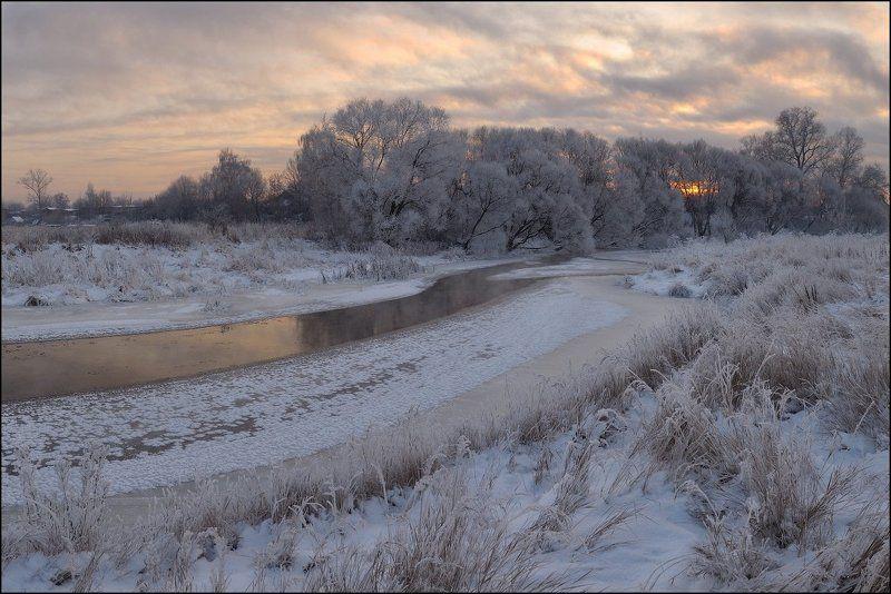 Декабрьские морозы на Клязьмеphoto preview