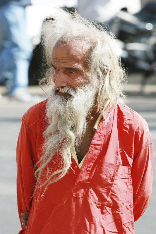 старик, индия, седина О чём думы твои...photo preview