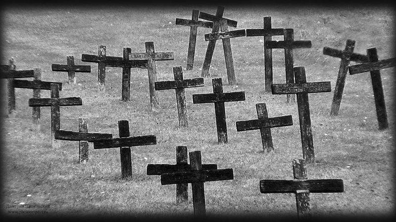 англия, йорк, кресты, кладбище Memento moriphoto preview