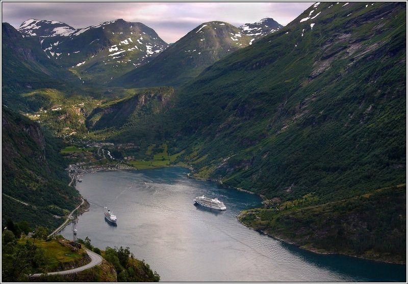 Geirangerfjordenphoto preview
