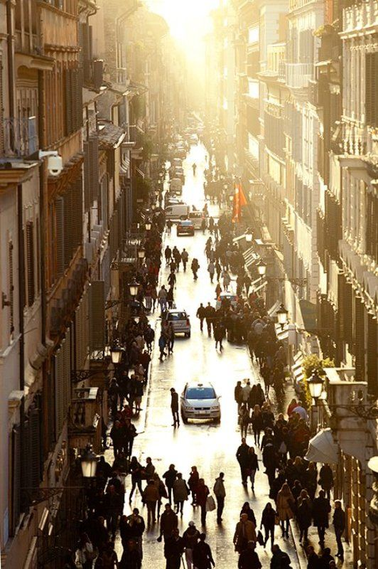 Street. Rome.photo preview