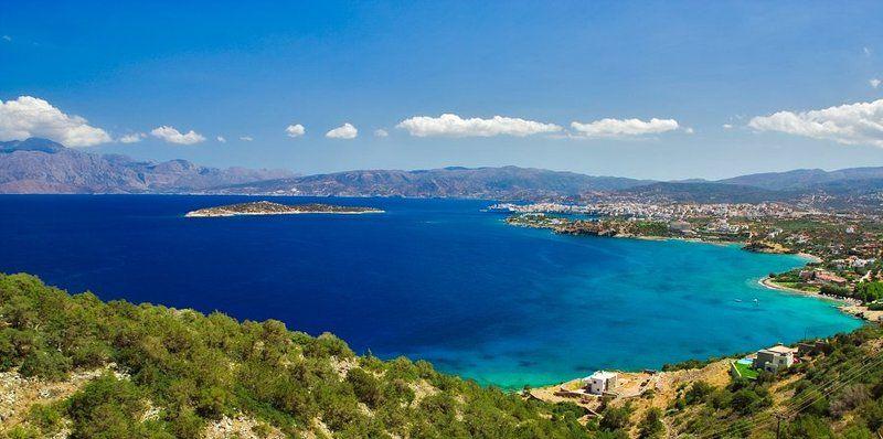 греция, крит, залив, мирабелло, море, пейзаж Греческие зарисовкиphoto preview
