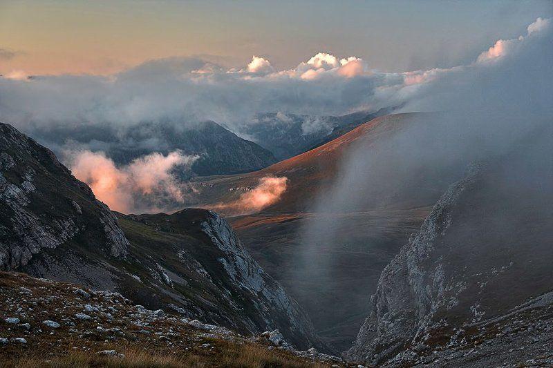 Зарождение вечерних облаков.photo preview