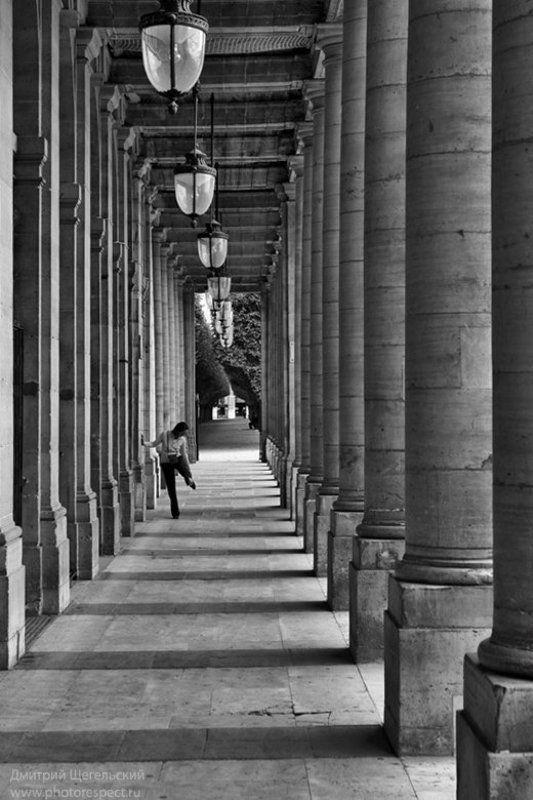 париж, колоннада, дворец, ришелье Ритмы Парижаphoto preview
