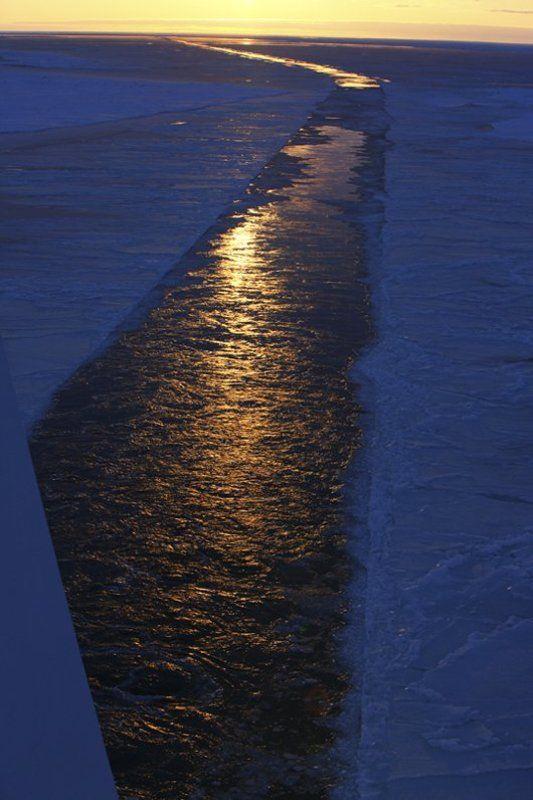 лёд, закат, надежда ГЕОМЕТРИЯ ЛЬДАphoto preview