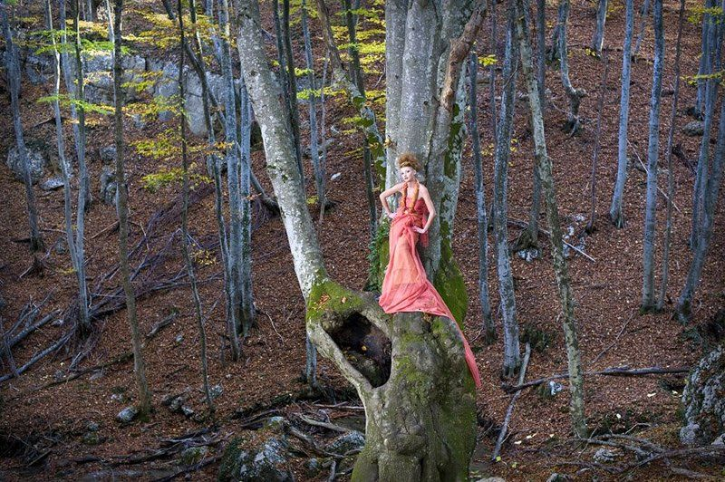 осень, девушка, портрет, большой каньон, крымский лес Лесная феяphoto preview