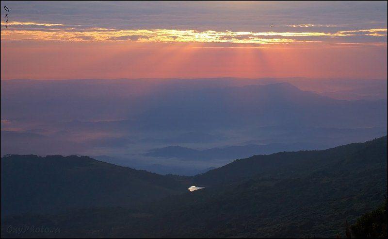 африка, africa, руанда, rwanda, вирунга, virunga, вулкан, карисимби, karisimbi Руандийское утро...photo preview