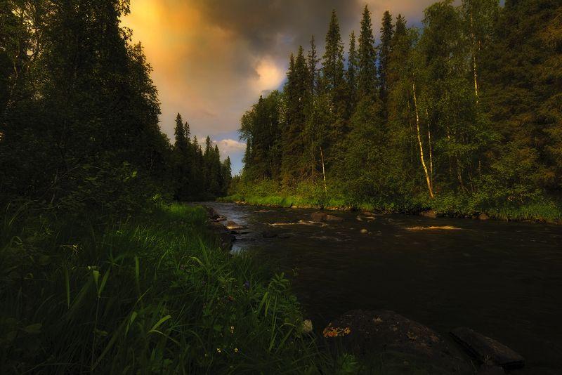 река Пила, Терский берег, Кольский полуостров, умба река Пила, Терский берегphoto preview