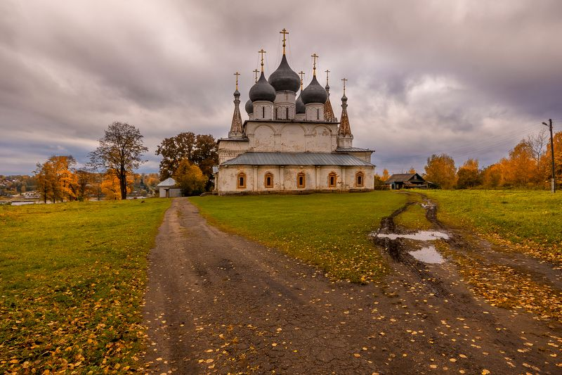 собор, тутаев, осень, дорога, церковь Выбор путиphoto preview