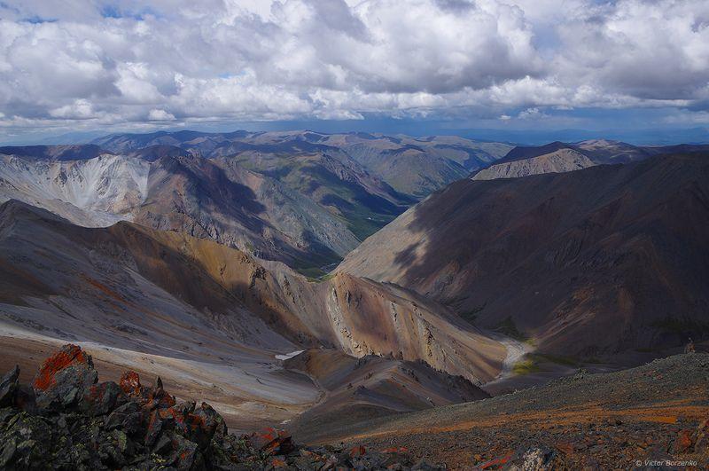 алтай, горы, курайский, хребет Курайский хребетphoto preview