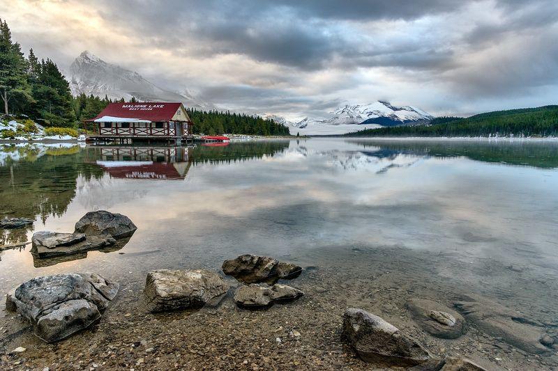 Канада, Скалистые горы, Джаспер Утро в горахphoto preview