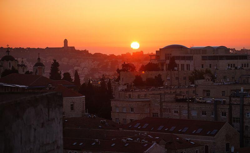 Рассвет в Иерусалимеphoto preview