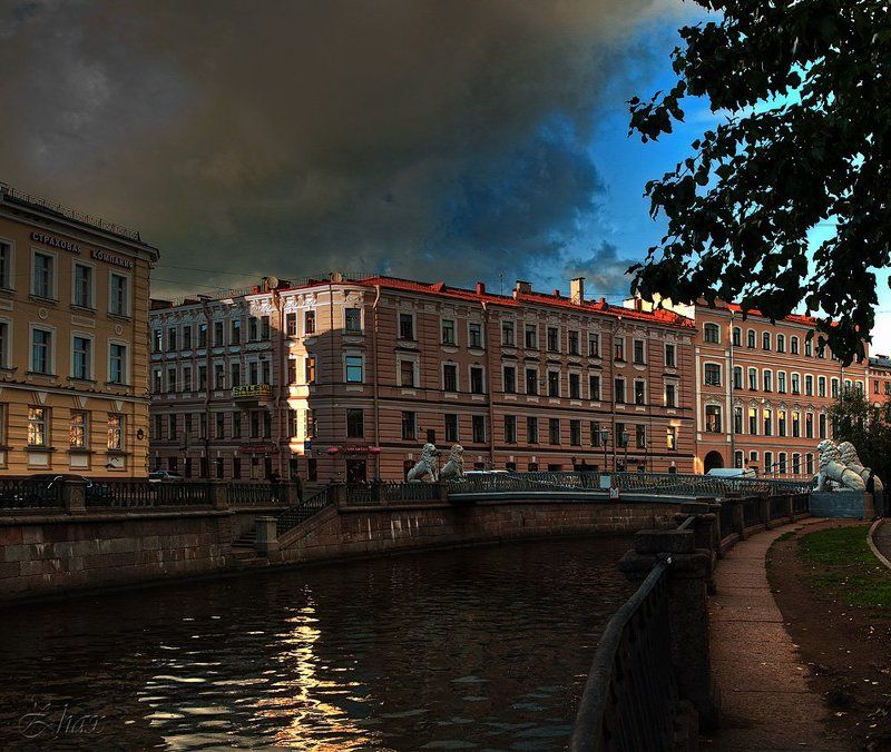 санкт-петербург Львиный мостикphoto preview