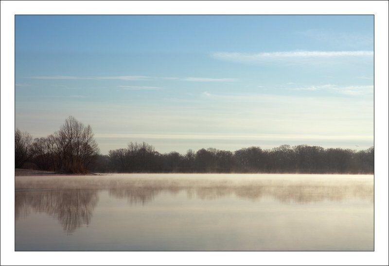 река, туман Туманнаяphoto preview