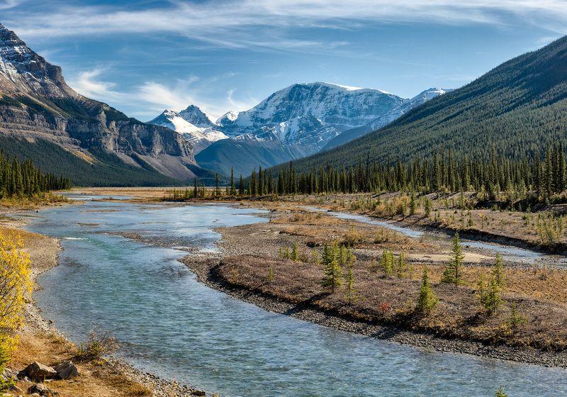 Канада, Скалистые горы, осень, пейзаж Осень в Скалистых горахphoto preview