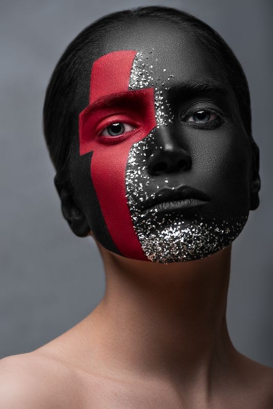 red, concept, portrait, makeup, beauty, fine art, advertising The Red Cross IIphoto preview
