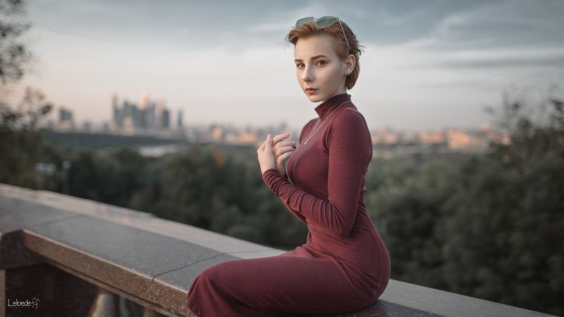 lady, портрет, art, model Сашаphoto preview