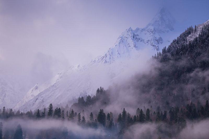 Туманный Домбайphoto preview