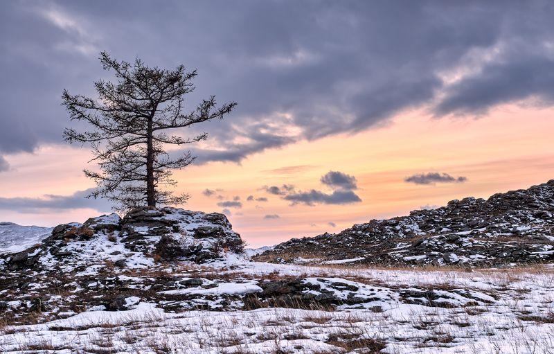 Закат в Тажеранской степиphoto preview