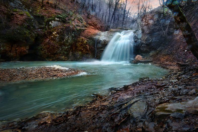 Водопад Шум. Адыгея.photo preview