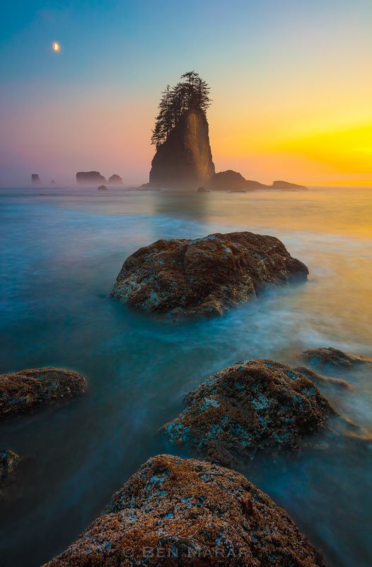 second beach, northwest, washington, pacific ocean, olympic, landscape, sunset, long exposure, canon 5dsr, Infinityphoto preview