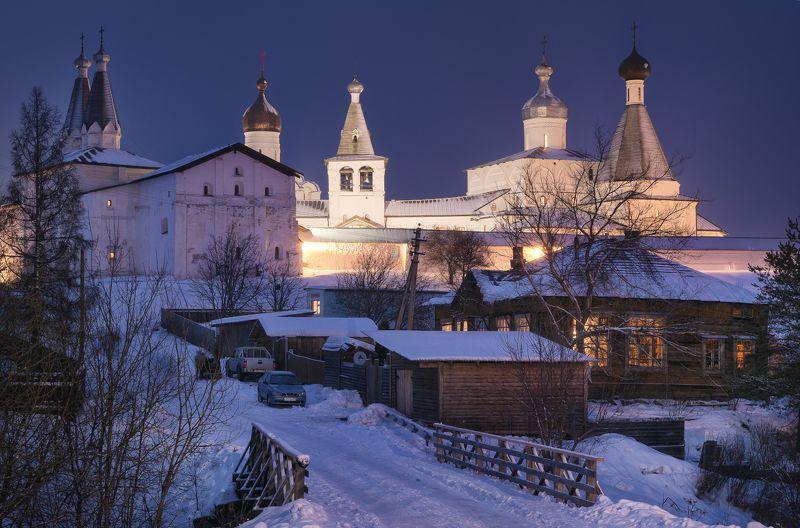зима, мороз, монастырь, ферапонтово, сочельник Сочельникphoto preview