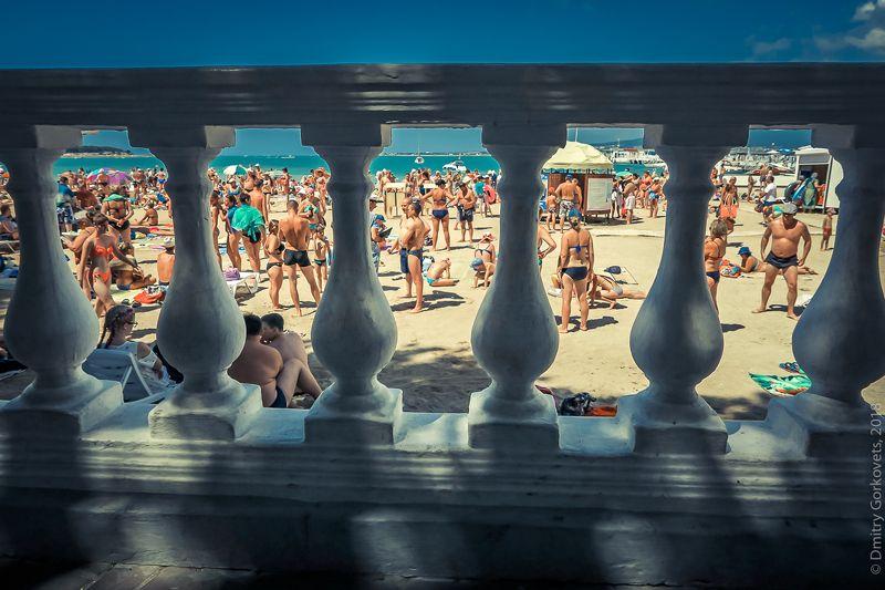 #PhotoByDmitryGorkovets #beach #summer #sea #blacksea Пляж. Beach. photo preview