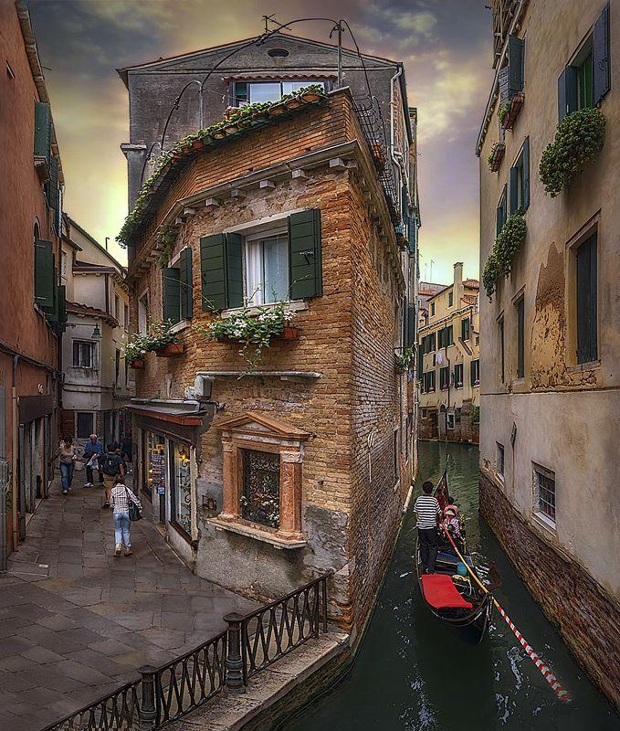 Венеция, Италия, каналы, gondola, гондола, символ Венеции, Venezia, Italia Волшебная сказка на воде...photo preview