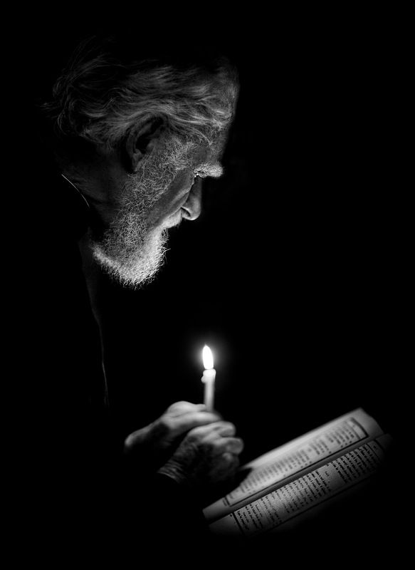 Портрет, жанровый портрет Молитваphoto preview