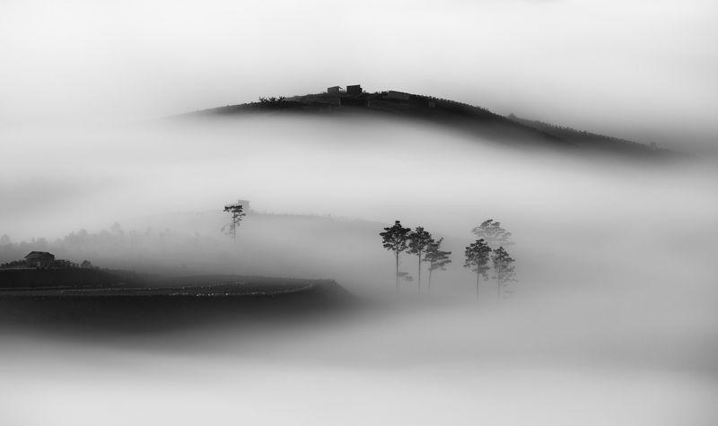 fog, vietnam, dalat, clouds, sunrise Dreamphoto preview