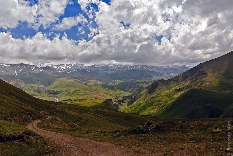 кавказ, приэльбрусье, горы, дорога Начало путиphoto preview