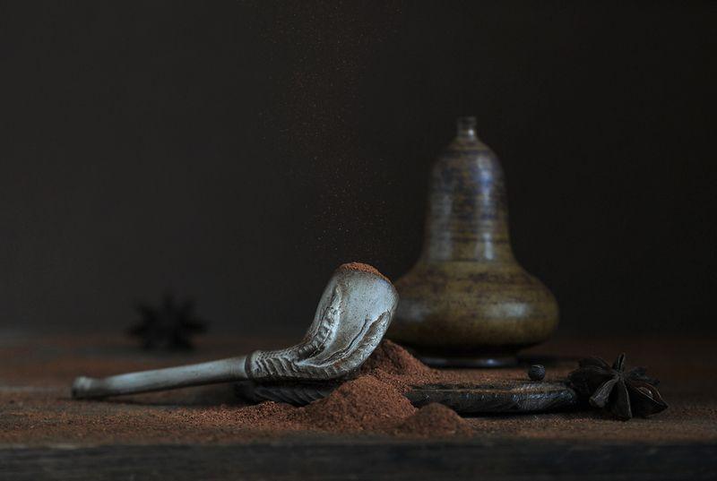натюрморт ,курительная трубка, красный перец Ещё раз о голландской трубке ...photo preview