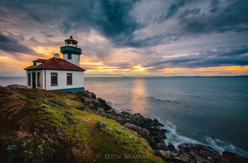 landscape, ocean, pacific, washington, canon, lighthouse \
