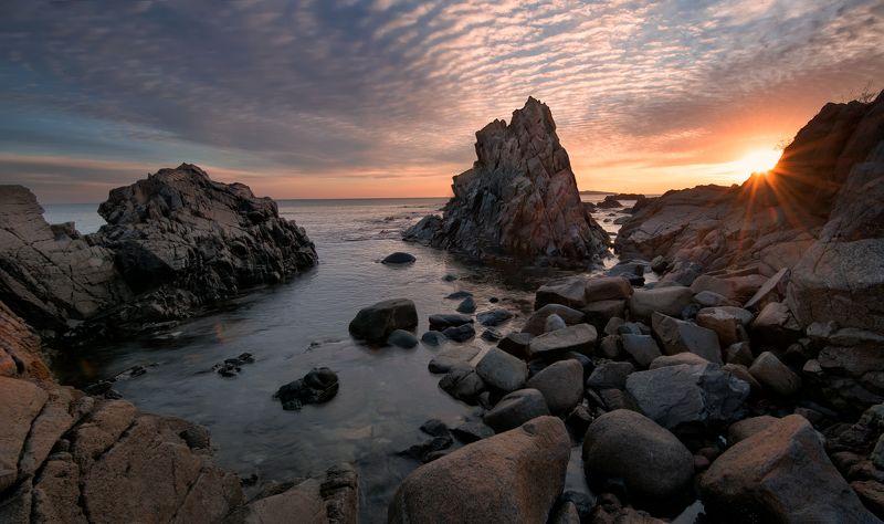 sunrise, rocks, sea, Another beautiful sunrisephoto preview