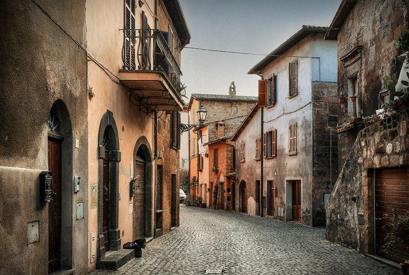италия, орвието, путешествия, город Средневековый Орвиетоphoto preview