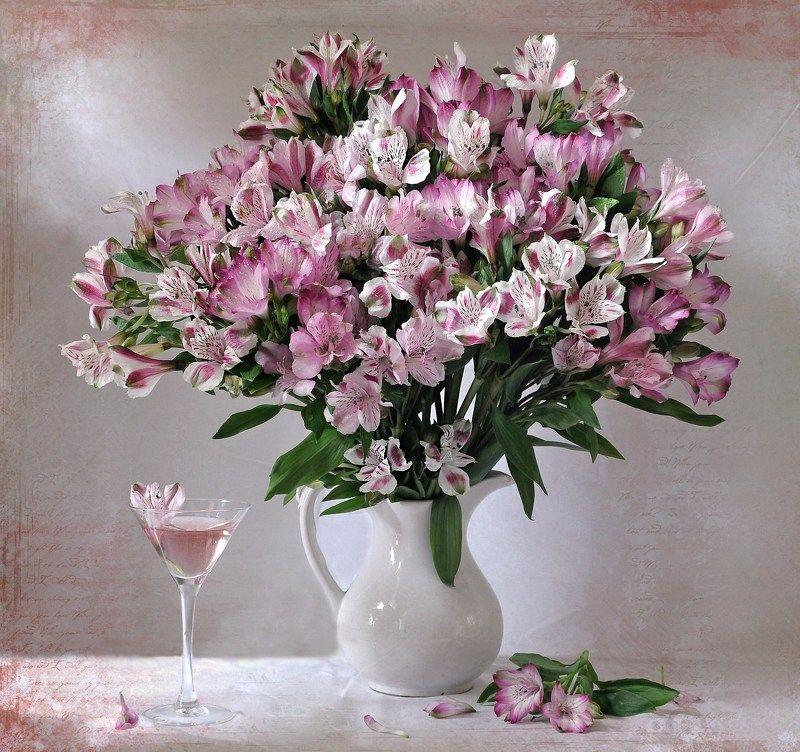 букет, , цветы, , альстромерия В Татьянин деньphoto preview
