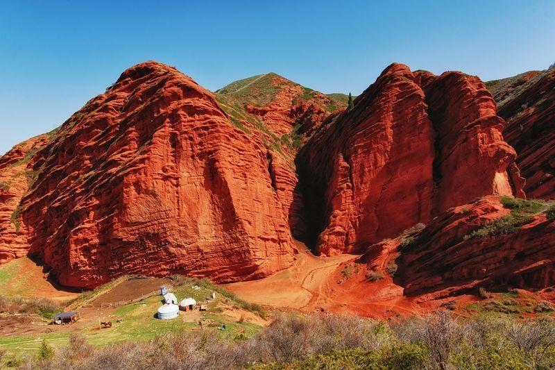 киргизия, джеты-огузы Хранители каньонаphoto preview