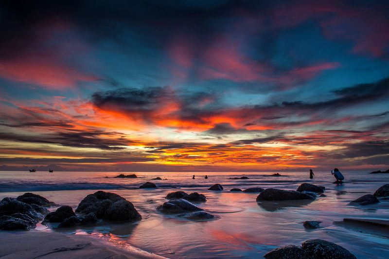 тайланд, пхукет, phuket, sunset, horizon Краски Пхукетаphoto preview