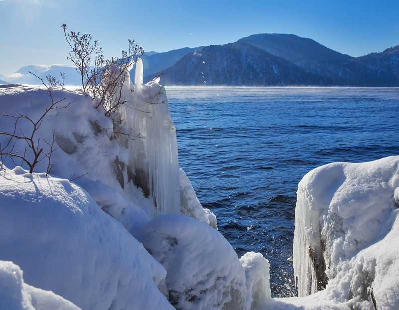 телецкое озеро, алтай яйлю Новогодний нарядphoto preview