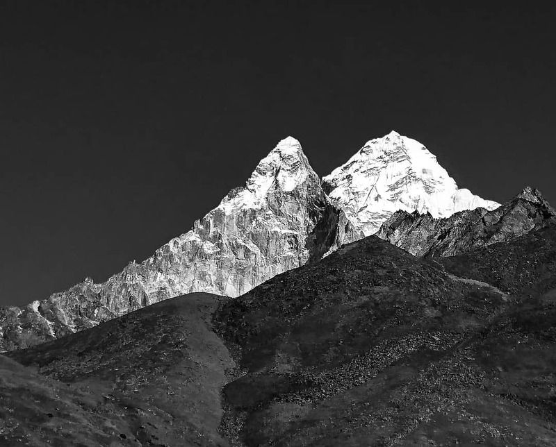 ama dablam, nepal, himalaya ***photo preview