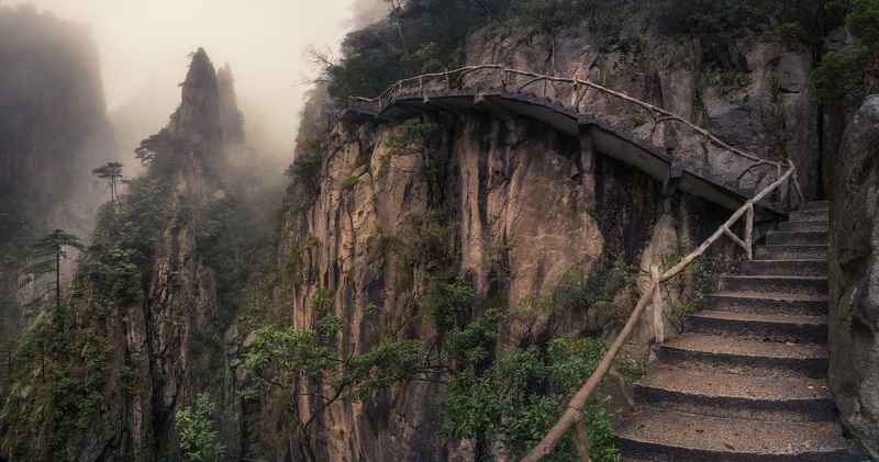 Хуаншань К облакамphoto preview
