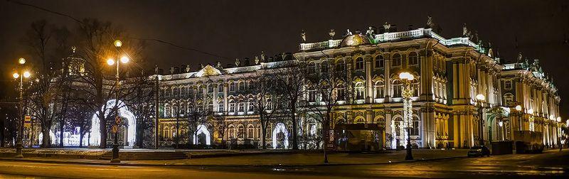 зимний дворец питер Новогодние арки у Зимнего.photo preview