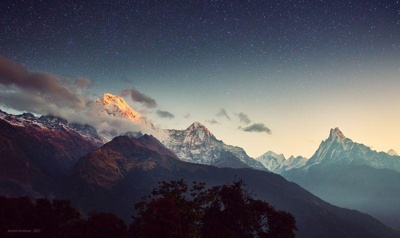 непал, soft light, travel, scenic, mountains Первые лучиphoto preview